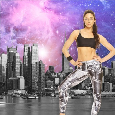 Terez - Womens Above NYC Performance Leggings