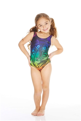 Terez Kids Rainbow Tiger Speedo