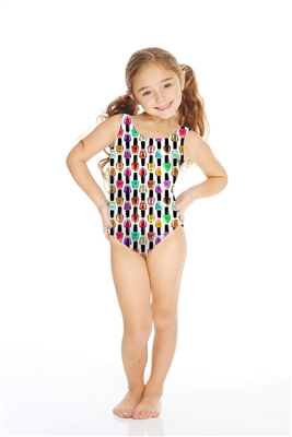 Terez Kids One Piece Nail Polish Speedo