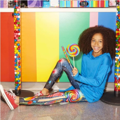 Terez - Girls Dylan's Candy Bar Leggings