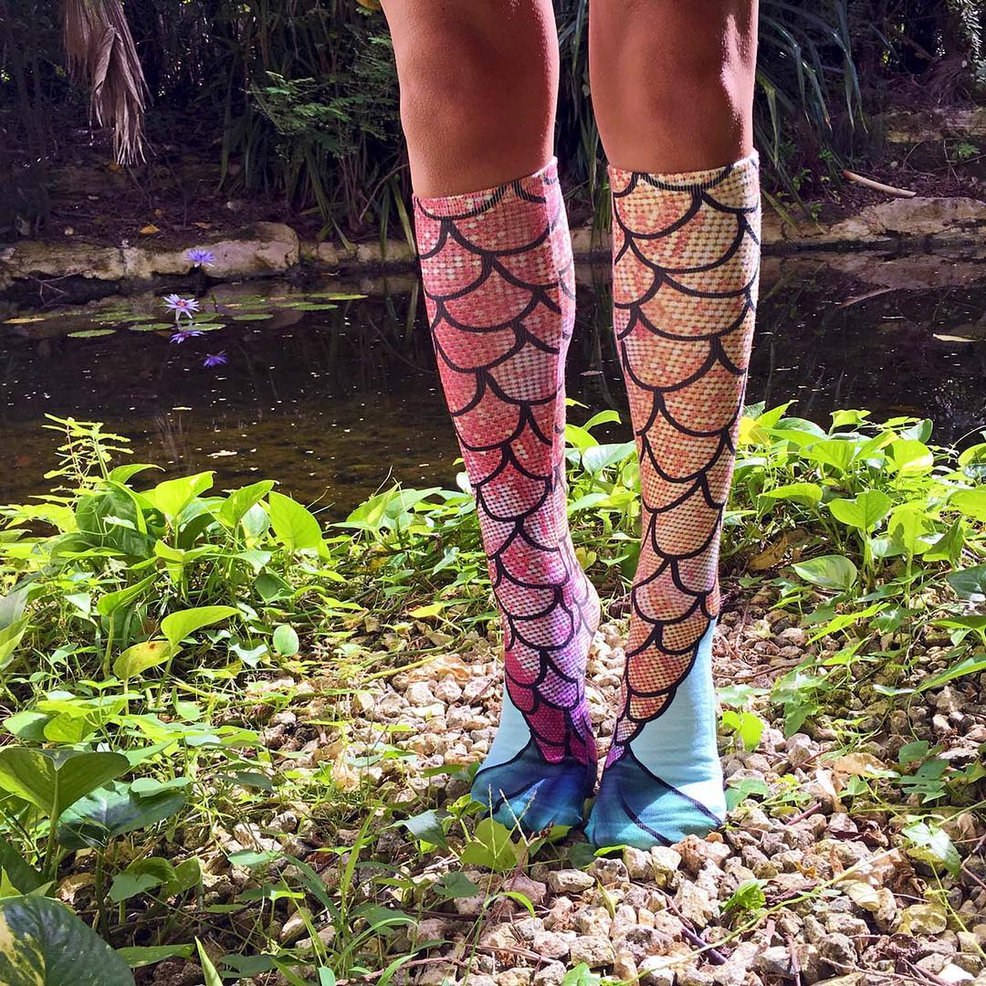 Living Royal - Mermaid Knee High Socks