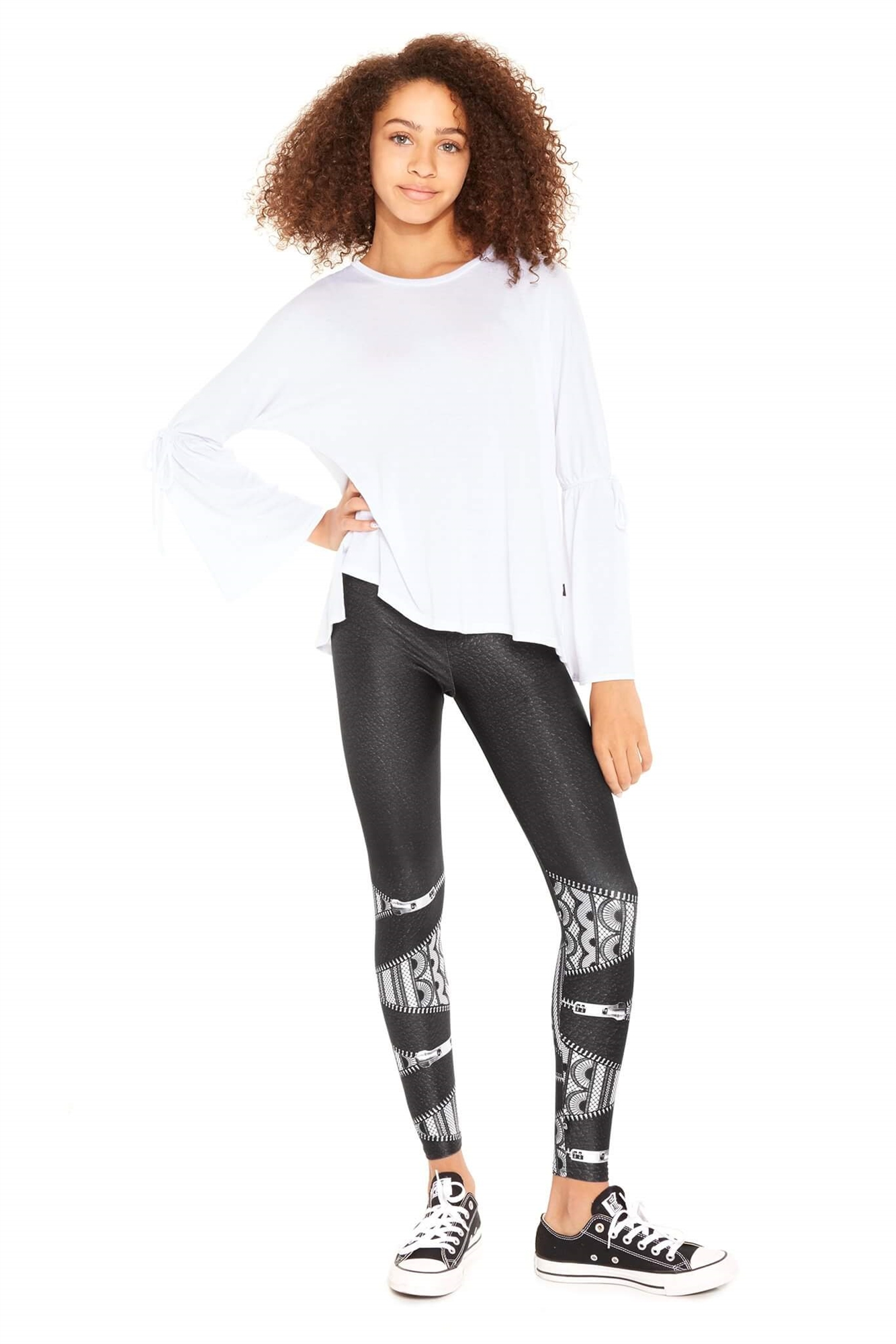 Terez Womens Lace Up Legging