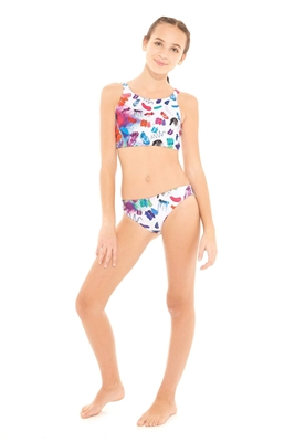 Terez Girls Make Up Mess Sport Bikini